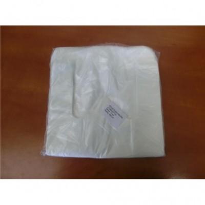 Maišeliai su rankena 27/6x47 cm, 100 vnt  HDPE