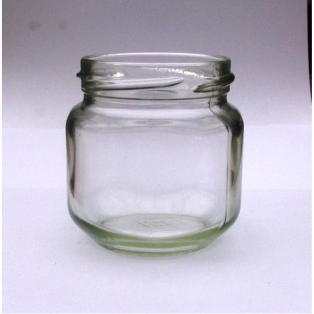 Stiklinis indelis 125 ml Ø58 mm su dangteliu