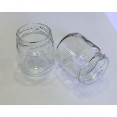 Stiklinis indelis 50 ml Ø43 mm 48 vnt su dangteliu Ø43 mm