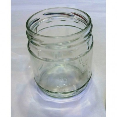 Stiklinis indelis 430 ml Ø82 su dangteliu