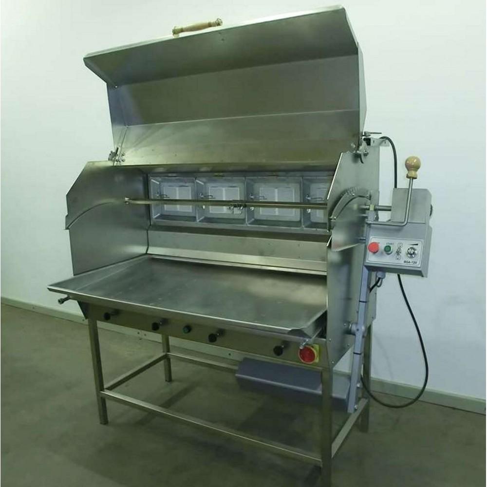 Šakočių kepimo įrenginys BSA-120D (dujinė)