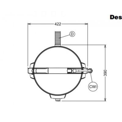 Daržovių skutimo įrengimas T8E