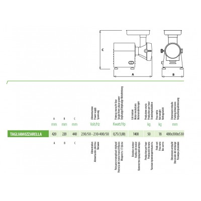 Tarkavimo įrengimas FTMC 100 su priedais F2280,F2281,F2282