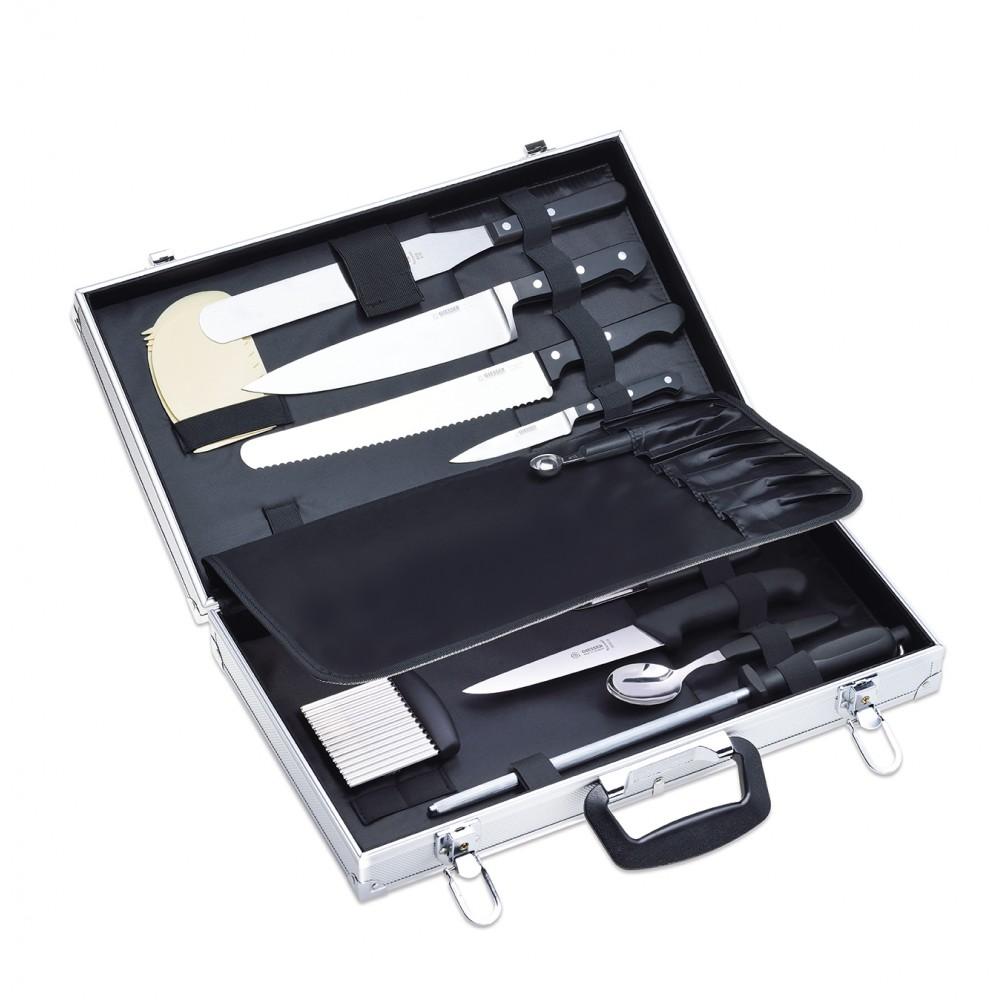 Šefo peilių lagaminėlis Giesser M.6801 sp rec