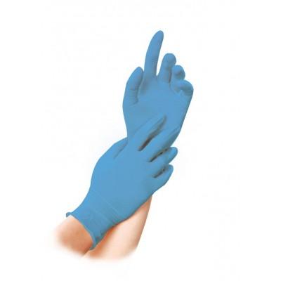 Pirštinės nitrilinės XL, mėlynos, 100 vnt