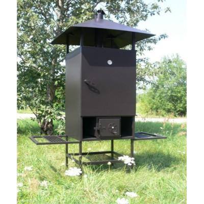 Rūkykla ABAS 200 L su stogu ir kojom