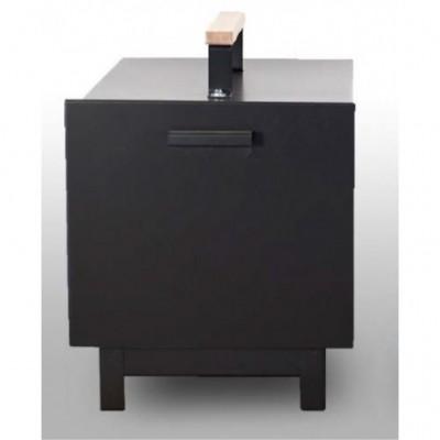 Rūkykla ABAS 45L (juoda)