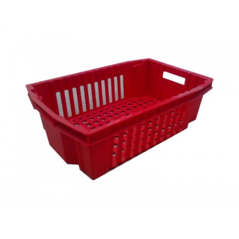 Dėžė 30 l 600x400x180, raudona