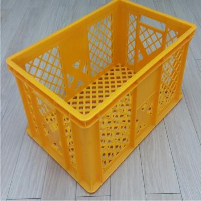 Dėžė duonai 44 l, 600x400x300 mm, PSD, geltona