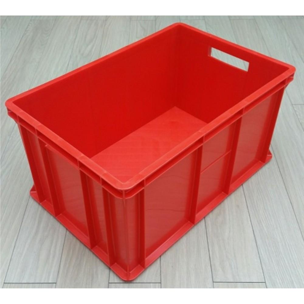 Dėžė mėsai 44 l, 60x40x30cm, raudona