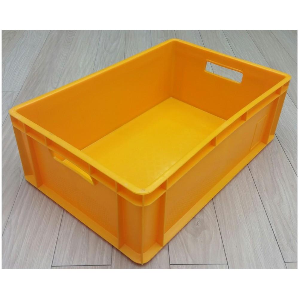 Dėžė 39 l, 600x400x200 mm, geltona