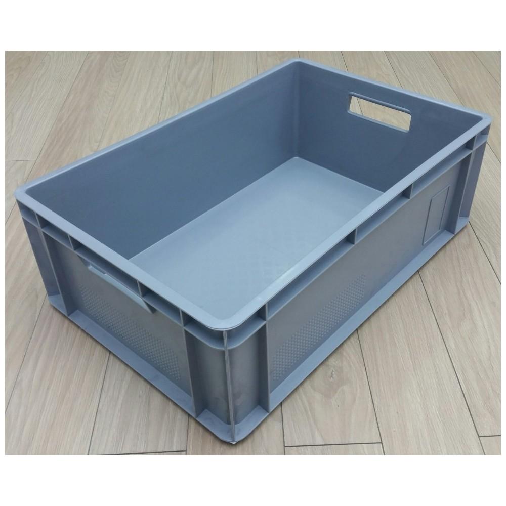 Dėžė 39 l, 600x400x200 mm, pilka