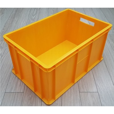Dėžė 44 l, 600x400x300 mm, geltona