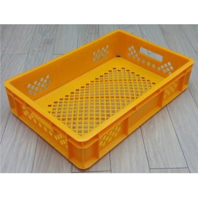 Dėžė 28 l, 600x400x130 mm PSD,  geltona