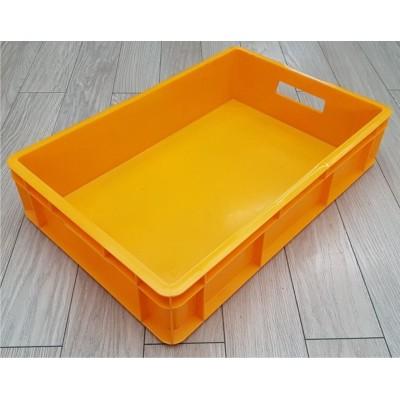 Dėžė 28 l, 600x400x130 mm, geltona
