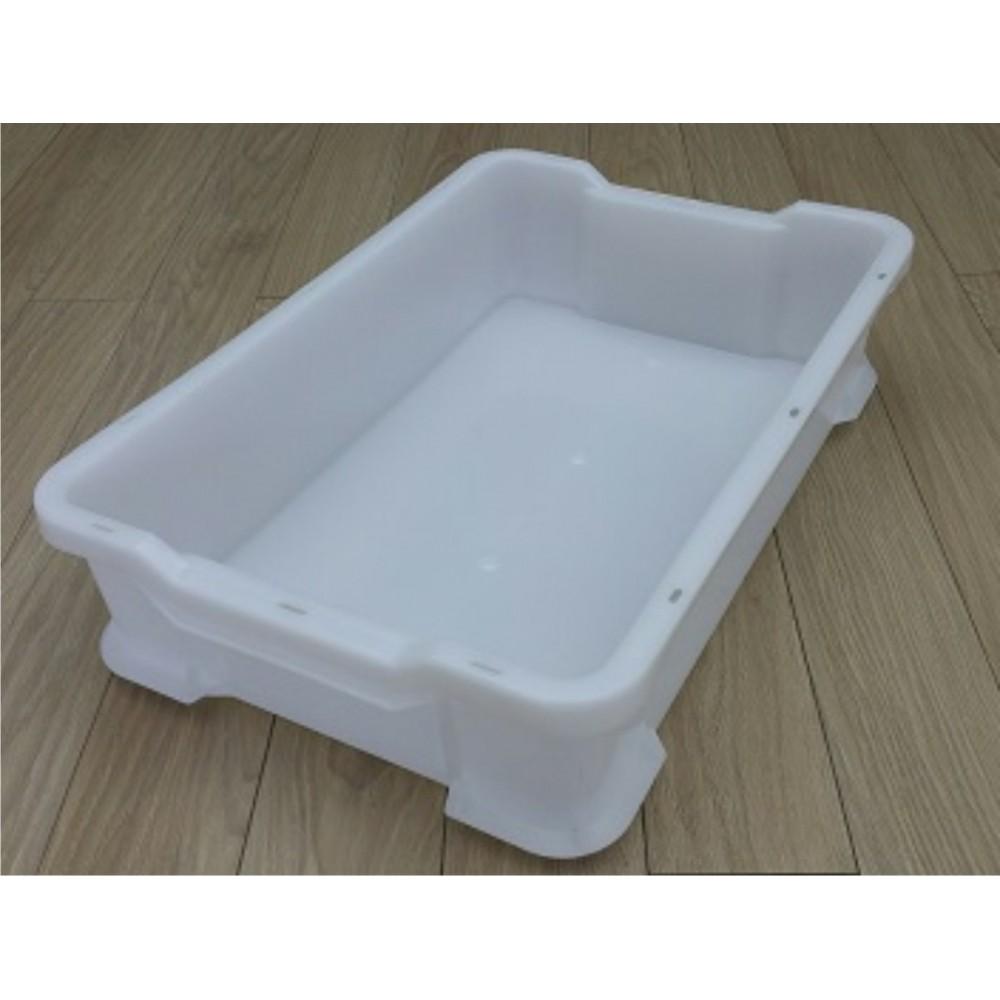 Dėžė 35 l 600x400x145 mm, balta