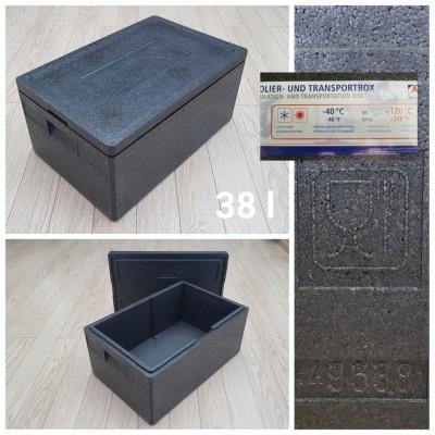 EPP termo dėžė 38 l, 535x330x220 mm